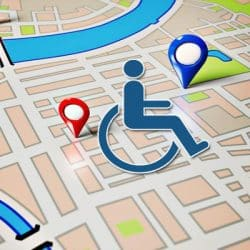 wheelchair accessible routes