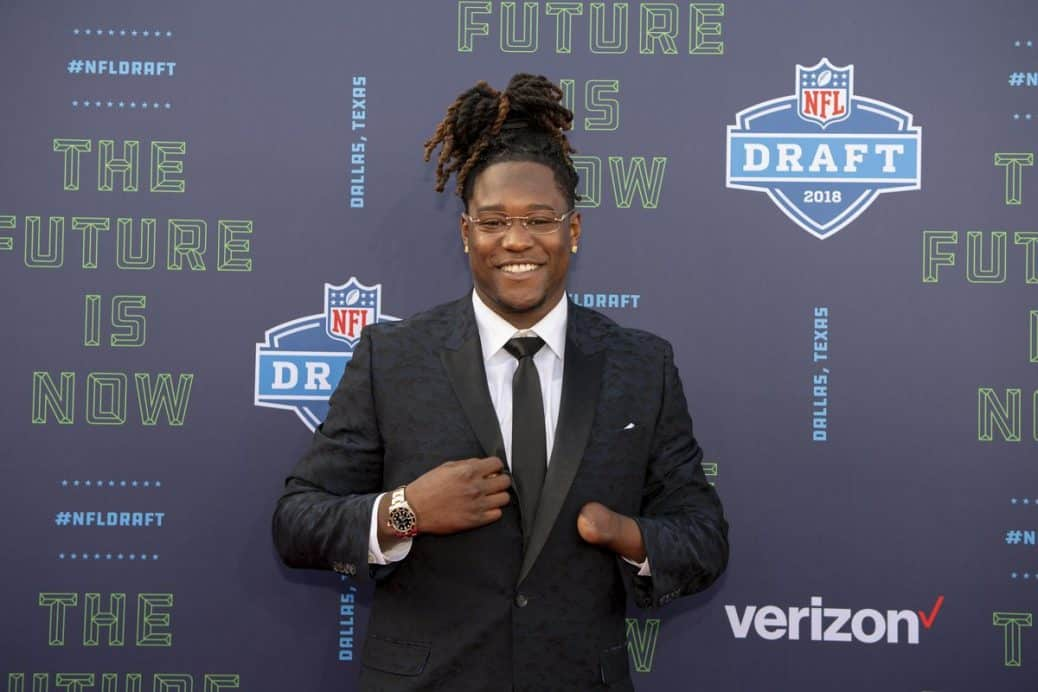 4056c593b One-Handed Player Shaquem Griffin Makes NFL History With Seahawks ...