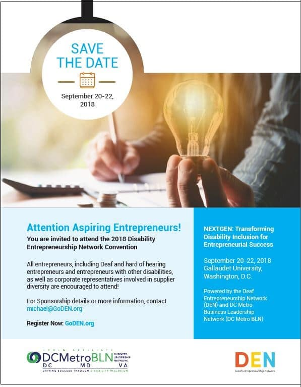 National Disability Entrepreneurship Network Convention