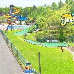 Thunder Island mini golf course image inFulton