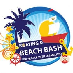 boating and beach bash logo