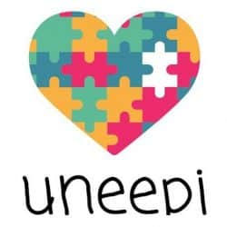 Uneepi logo for the app for the autistic